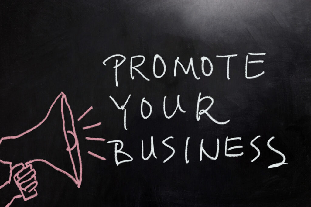 There are a couple different things you can do to promote a small business. Here are five ways to get more people to know about your company.